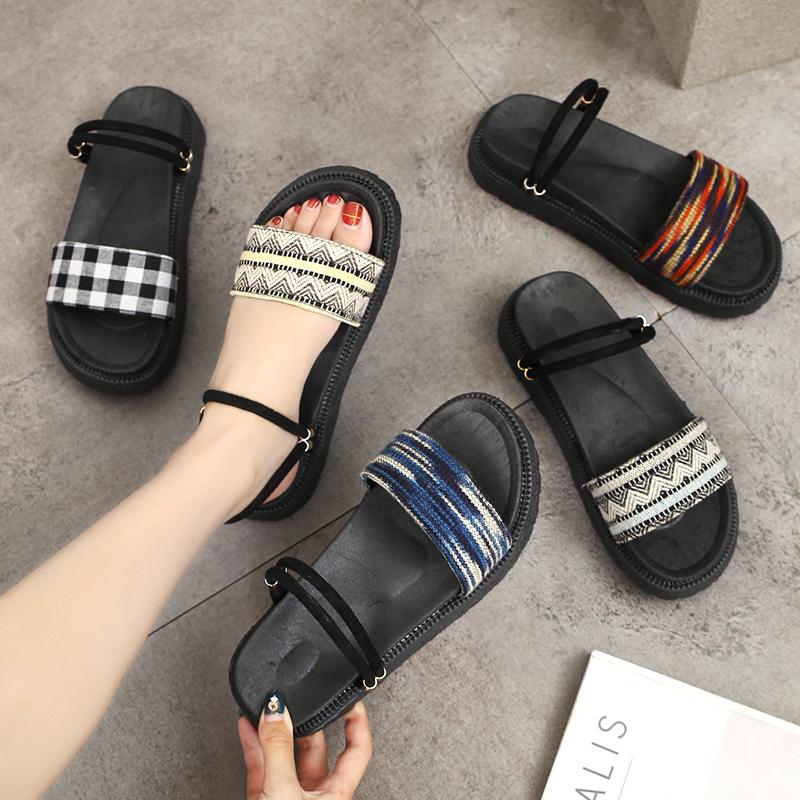 女鞋民族风凉鞋