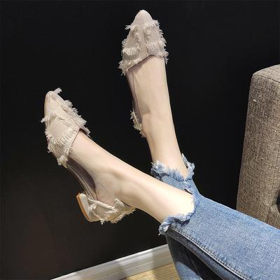 女士复古鞋