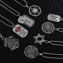 设计师品牌原创民族风蒙古元素亚克力轻便蒙古包草原印象项链SGL