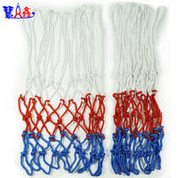 Huixin Red Blue and White Nets 12 Buckle 13 Buckle Professional Basketball Net Durable Standard Basket Net Bag Net