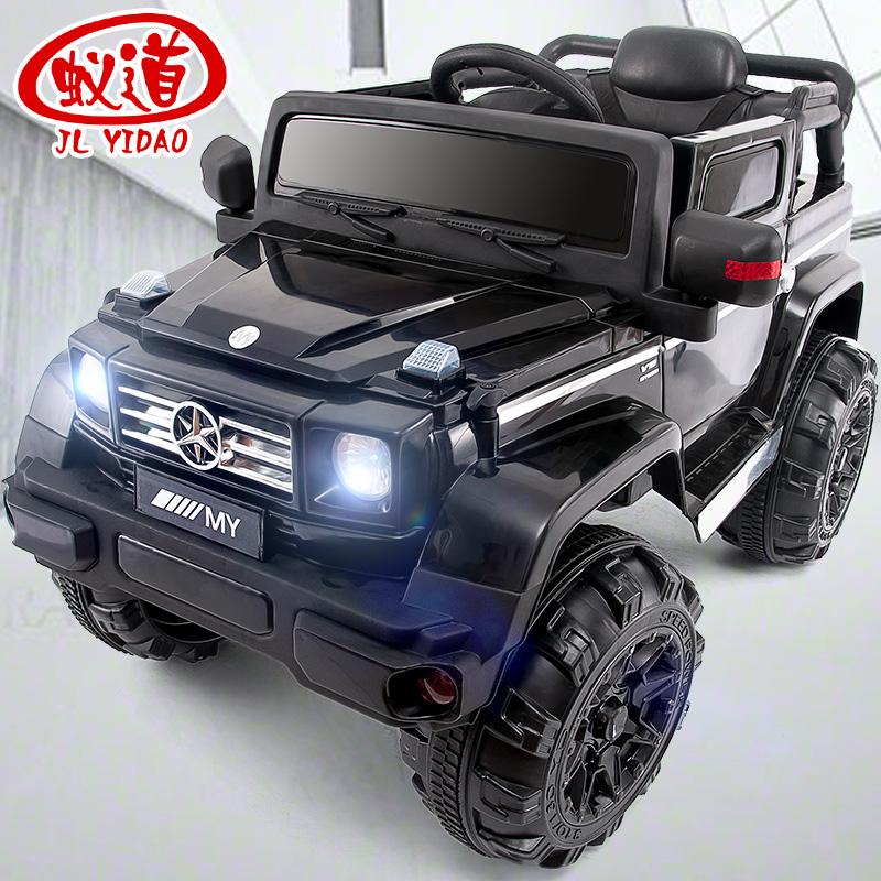 儿童电动车四轮四驱遥控小孩玩具可坐人宝宝越野车汽车大号童车