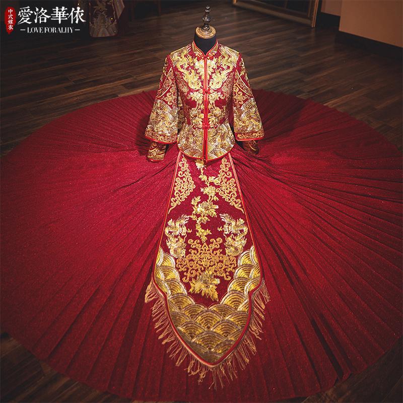 爱洛华依ALHY-955新娘礼服