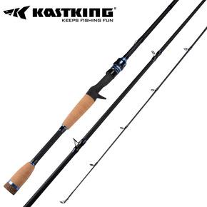 KastKing刺客系列独节竿路亚竿富士配件软木握把枪柄直柄碳素鱼竿