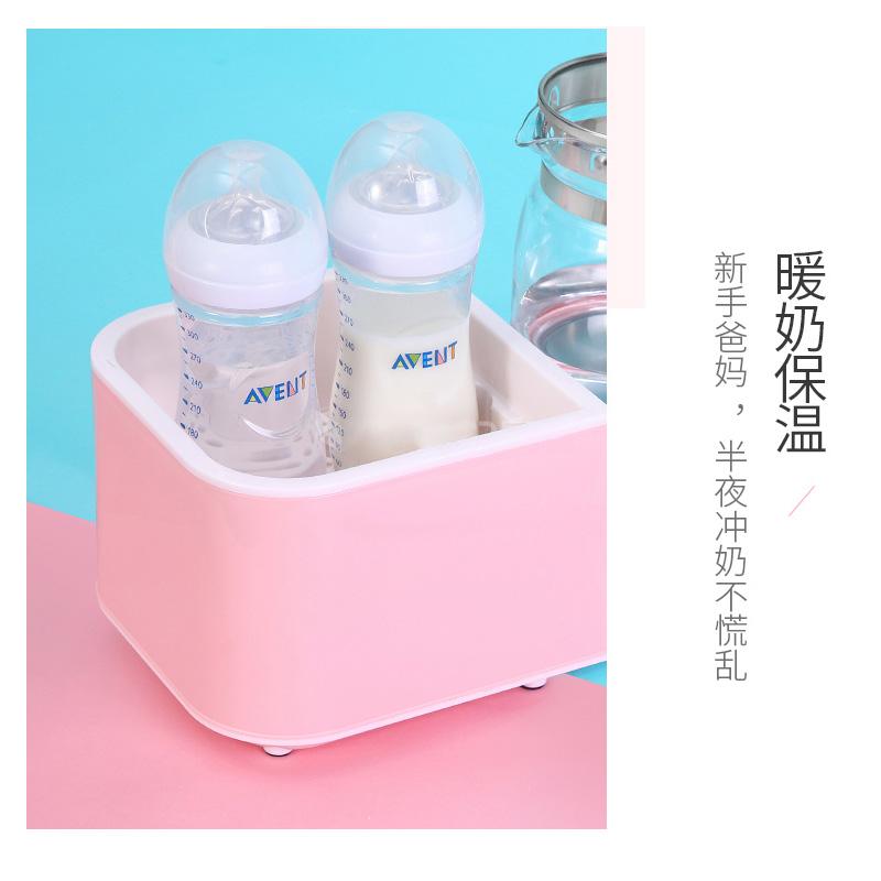 恒温调奶器玻璃热水壶婴儿全自动智能冲奶暖奶温奶器二合一消毒器