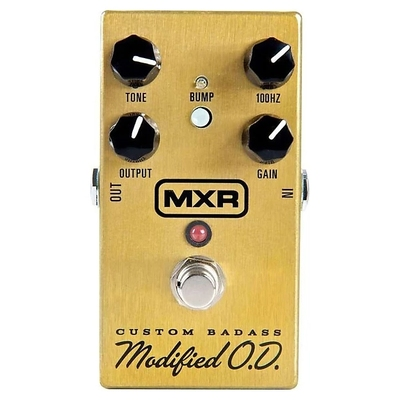 Dunlop MXR M77 CUSTOM BADASS MODIFIED OD電吉他過載單塊效果器2018新款