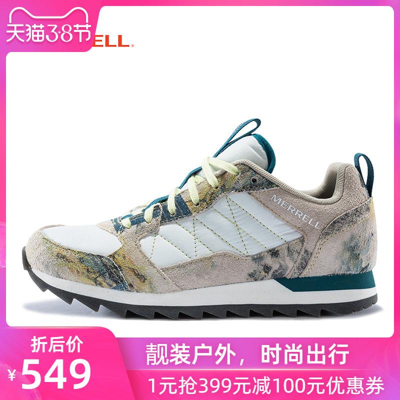 MERRELL迈乐 女鞋 ALPINE SNEAKER  户外休闲鞋 复古时尚 J000862