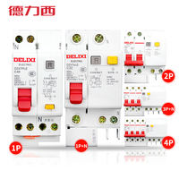 Delixi household air switch with leakage protector DZ47LE DZ47sLE circuit breaker leakage protection open
