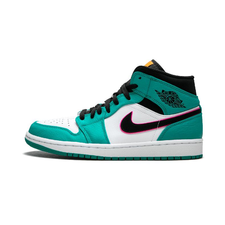 "Air Jordan 1 MID SE aj1男鞋 南海岸 中帮篮球鞋- 852542 306 ""S"