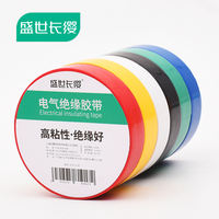 Electrical Insulation Tape Electrical Wire Tape PVC Waterproof High Temperature Widening Large Roll Black White