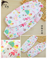 Summer thin section cotton gauze newborn feeding sleeves cotton adult breastfeeding sleeves anti-scorpion arm mat