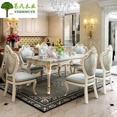 奢华大理石餐桌是什么档次