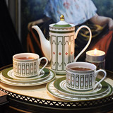 Medici afternoon tea set Original bone china teapot cup coffee cup gift box
