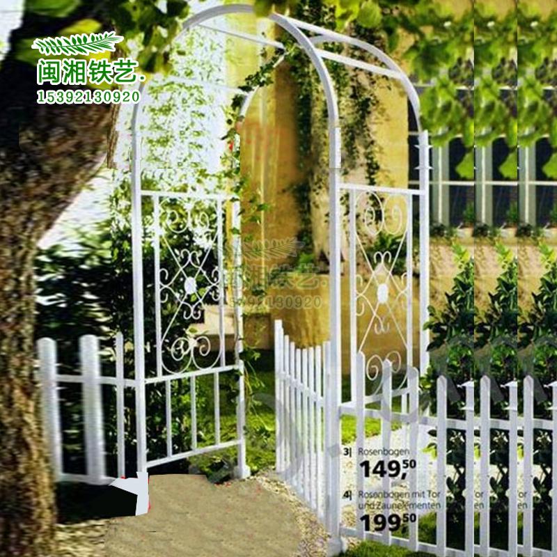 铁艺拱门花架铁艺爬藤架 铁艺花架 铁艺婚庆拱门花架 花园拱门架