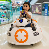 Children's car electric four-wheeled baby carriage with remote control car baby electric car kids toy car can sit people motorcycle