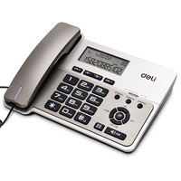 Deli 796 telephone landline office home business phone caller ID mobile phone