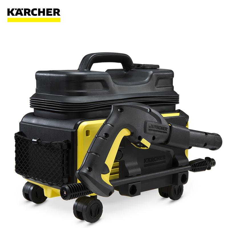 Karcher卡赫洗车机便携充电式高压清洗机家用洗车器K2 Follow me
