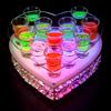发光水晶杯