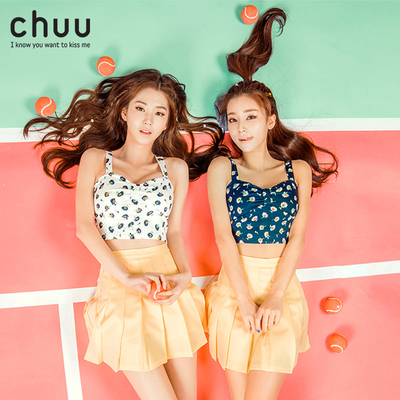 chuu2018新品-5youth skirt少女半身裙多色显瘦百褶裤裙vol.1