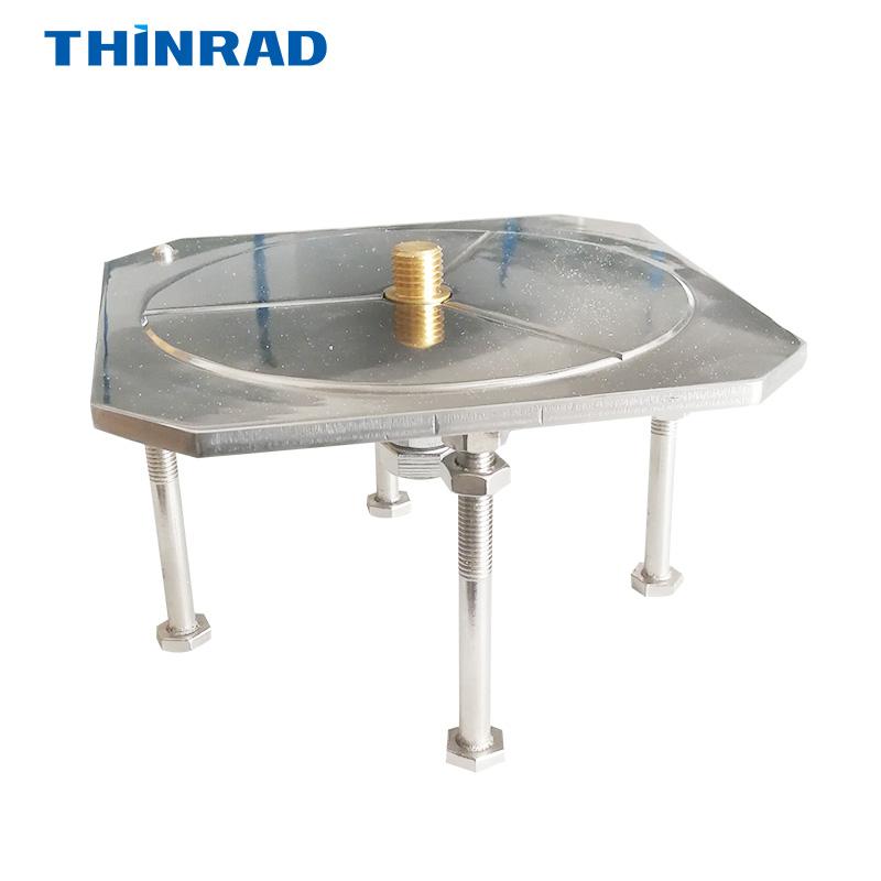 包邮 不锈钢强制对中盘 中心螺丝基座归心盘全站仪水准仪对中器