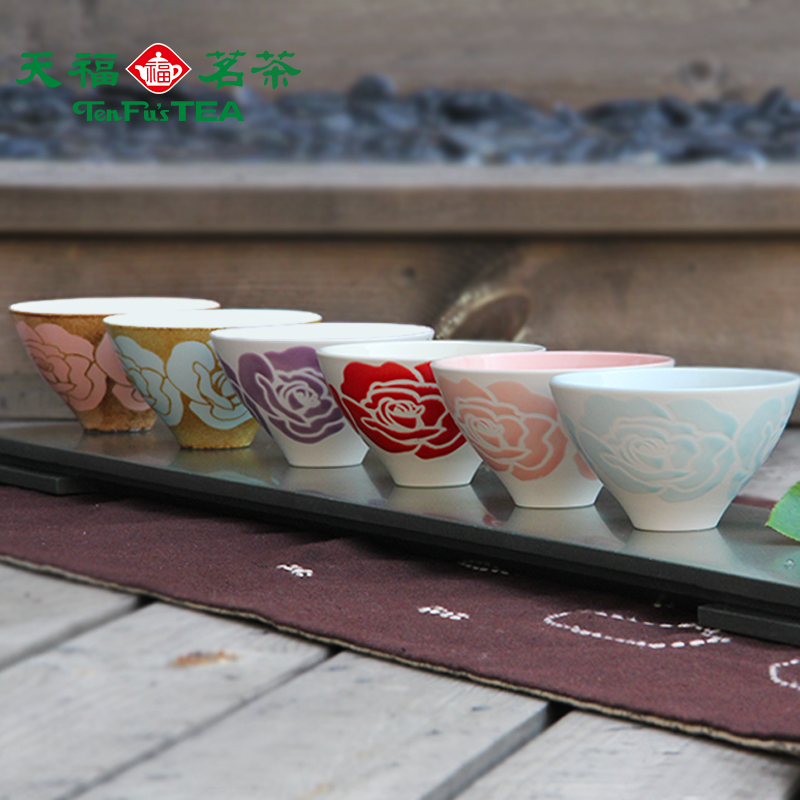 玫瑰浮雕瓷