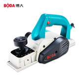 Boda electric planer home multi-function portable carpenter electric spore plane planer planing electromechanical push planing machine