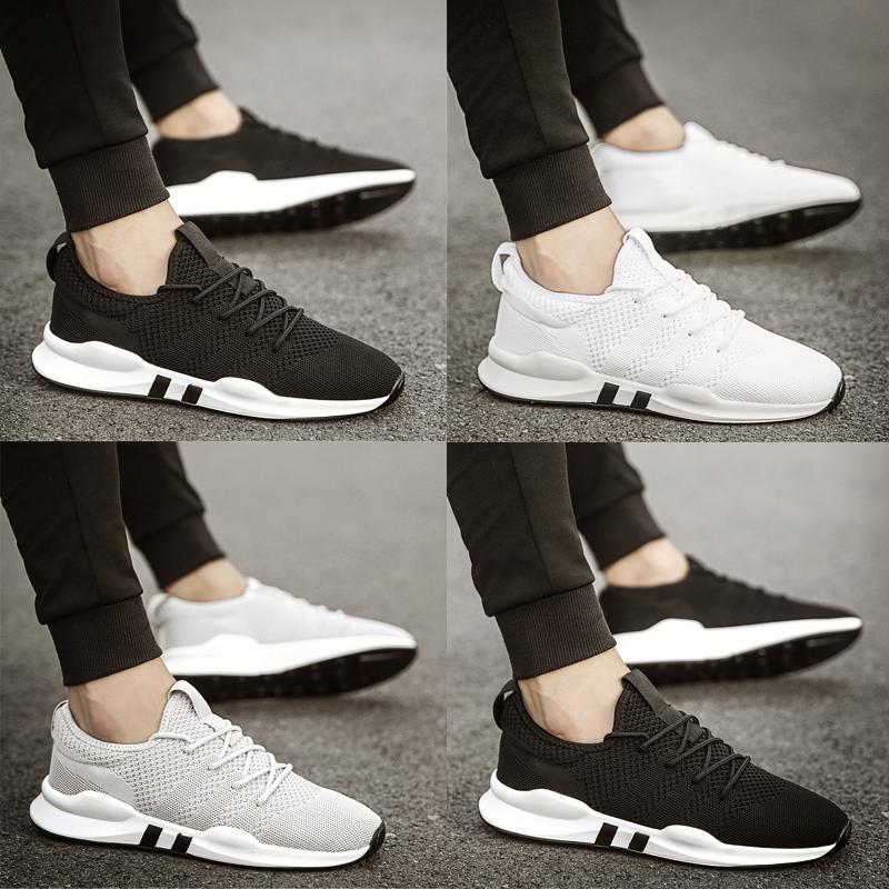 透气黑白色鞋鞋