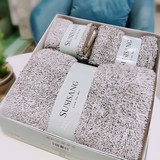 Su Shaner micron soft-skinned towel bath towel four-piece set wedding engagement wedding anniversary banquet high-end gift towel gift box