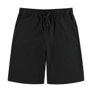 夏季男士短裤大码裤衩纯棉麻休闲运动休闲沙滩裤子五分裤薄款透气