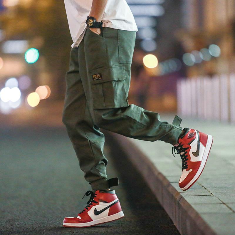 街舞工装裤