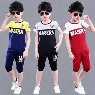 3到4至5男童装6夏天7小男孩子8休闲套装9儿童10夏季衣服装11岁12