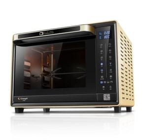 长帝 CRWF32PDT电烤箱家用32PDJ烘焙多功智能蛋糕搪瓷内胆大容量