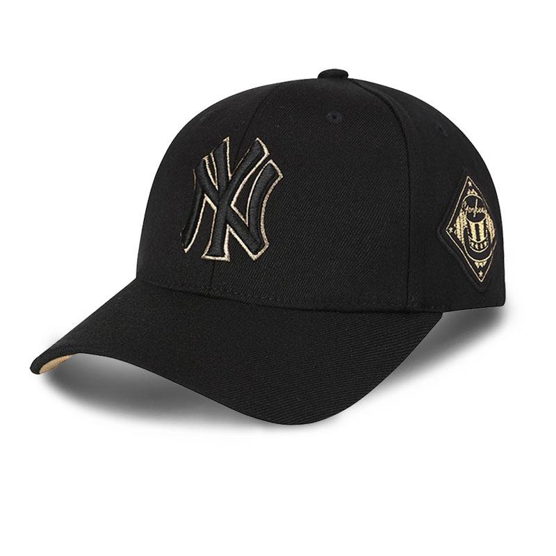 韩国正品MLB棒球帽19新款洋基队男女鸭舌帽夏NY字母遮阳防晒帽子