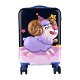 Cup bear light suitcase small child boarding 17 inch trolley case universal wheel suitcase portable box