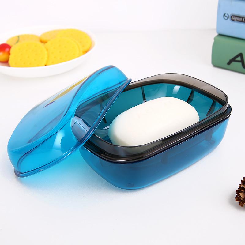 盖透明皂盒大号带皂盒洗衣沥水卫生间