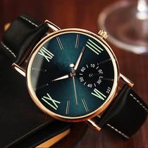 男表时尚手表防水运动表石英表男士手表中年上班气质新款