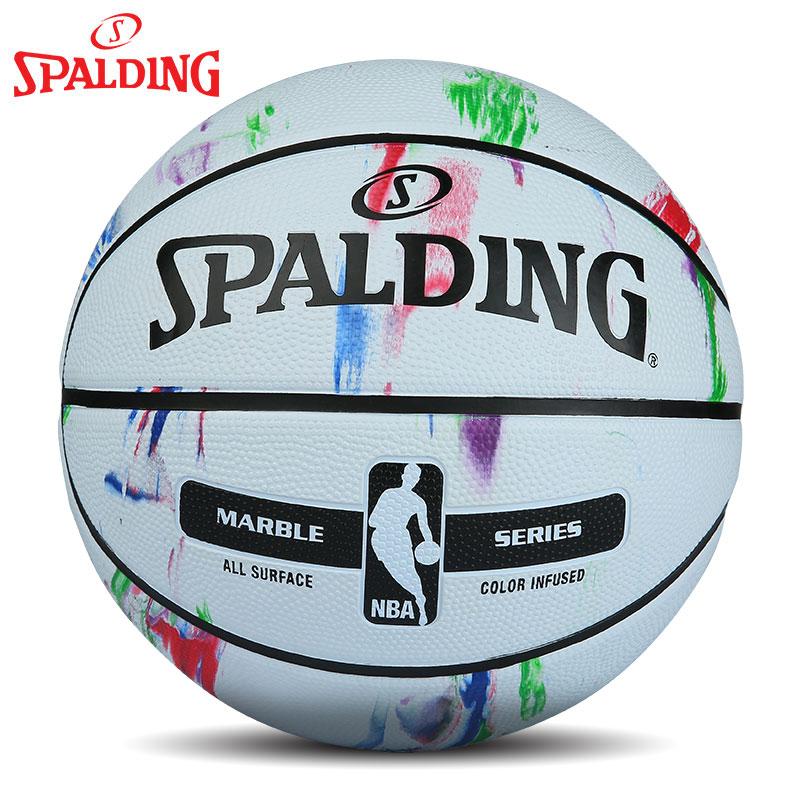 官方正品斯伯丁室外学生耐磨比赛专用球