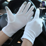 Driving gloves, touch screen, driving white gloves, rental, driving, sunscreen, non-slip, breathable, sweat-absorbing, thin etiquette, thin section, male summer