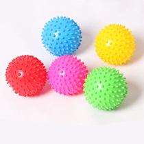 Jardin denfants éducation de la petite enfance système sensoriel de lenfant formation balle tactile de particules balle dentraînement Hedgehog balle de massage bébé main balle