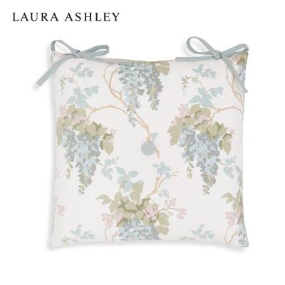 Laura Ashley 紫藤花鸭蛋色椅子坐垫 餐椅坐垫含芯 可整体搭配