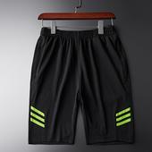 运动短裤男跑步健身套?俑?分裤薄款冬季宽松大码训练篮球中裤