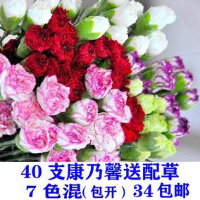 云南鲜花直发直批香水百合花玫瑰康乃馨雏菊家用水养花束速递包邮