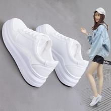 小白鞋女百搭加绒2018新款韩版秋冬季学生棉鞋保暖白鞋二棉冬鞋子