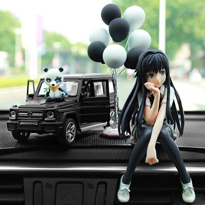 奔驰G65合金车汽车摆件车模型摆件车内香水高档车载香水座装饰品
