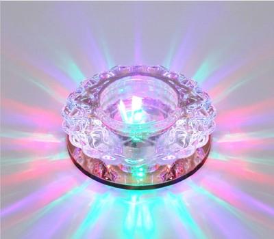 暗装水晶筒灯图片