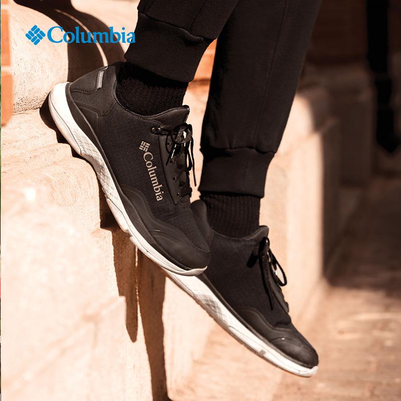 哥伦比亚户外男鞋跑步鞋秋季新品舒适透气轻便休闲徒步鞋YM7460