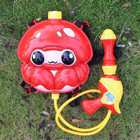 Backpack water gun children's water gun toy large capacity water spray water 仗 children boy girl 呲 water grab pull