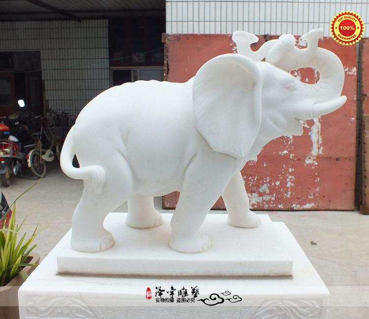 石材雕刻大象