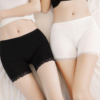 安全裤防走光女夏春季蕾丝内外穿大码三分保险短裤无痕薄款打底裤