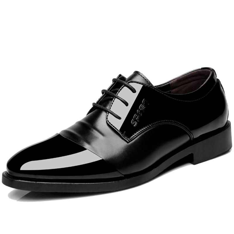 男士皮鞋冬季保暖商务正装休闲潮鞋韩版尖头英伦内增高加绒男棉鞋