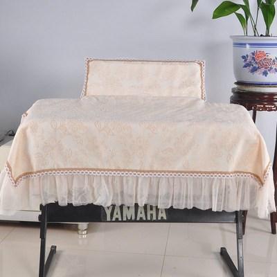 雅马哈YDP162 142电钢琴罩88键防尘罩盖布带谱架加厚通用电子琴评测